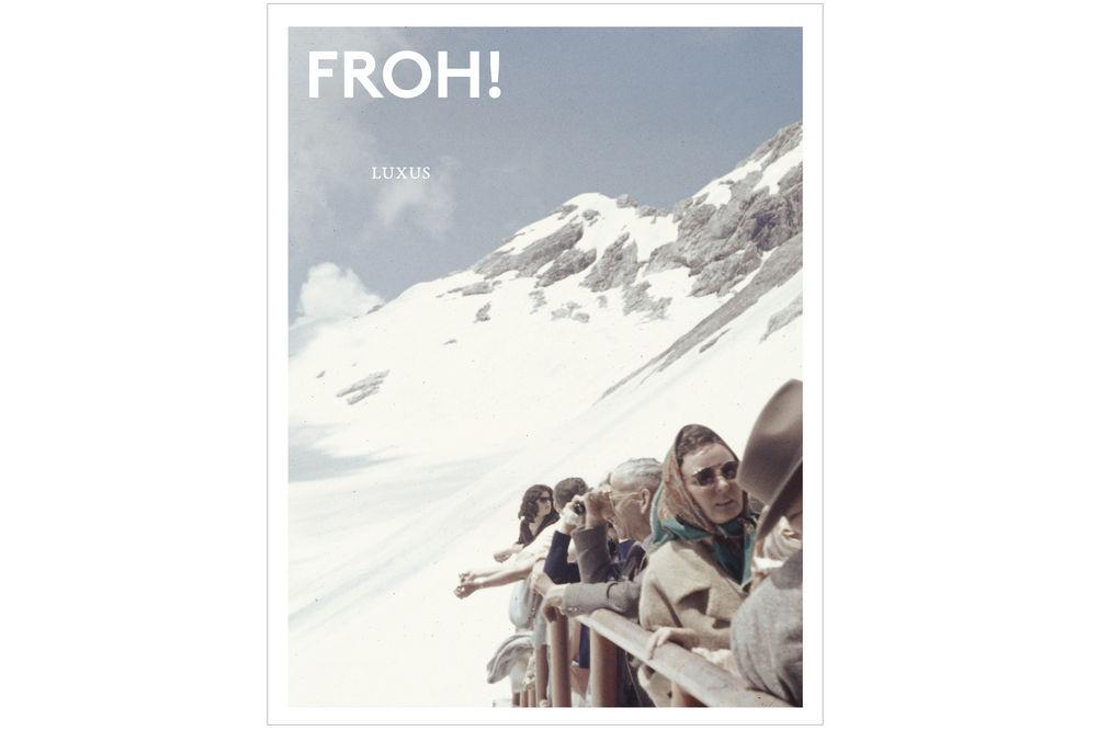 Wie man sich selbst beschenkt: Mit dem FROH!-Magazin Luxus