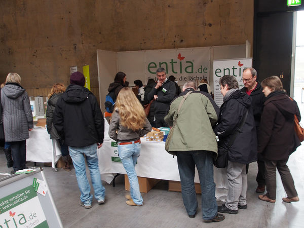 gut-messe: entia-Stand