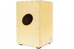 Die Rückseite besteht aus einer Platte aus Pappelholz.